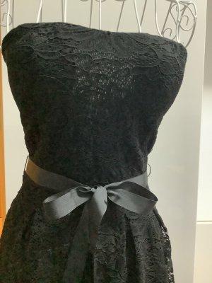 Camaieu Lace Dress black mixture fibre