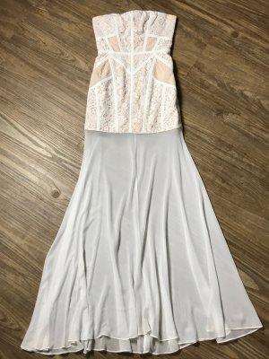 BCBG Maxazria Maxi-jurk wit Rayon