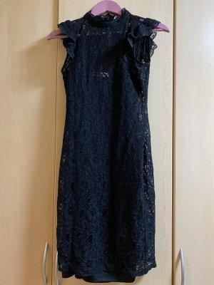 Oasis Robe en dentelle noir