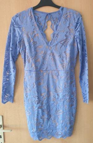 H&M Lace Dress beige-azure