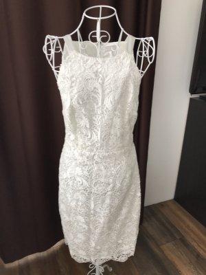 Apart  glamour Wedding Dress white viscose