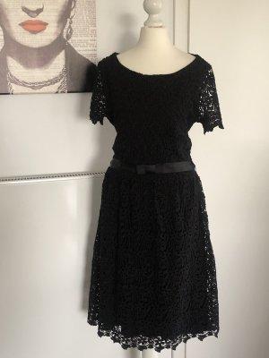 Hallhuber Midi Dress black