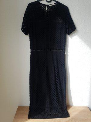 H&M Trend Robe en dentelle noir