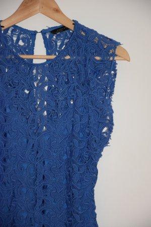 Spitzenkleid hellblau - Zara