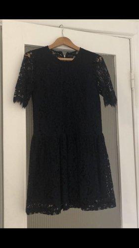 YAS Lace Dress dark blue