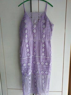 Chi Chi London Lace Dress purple