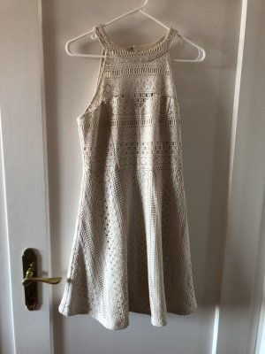 Guess Lace Dress white-natural white