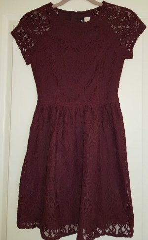 H&M Divided Lace Dress multicolored