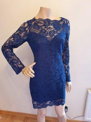 Lace Dress blue