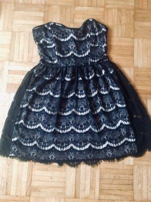 Pimkie Bandeau Dress black-nude