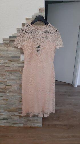 Ralph Lauren Lace Dress nude-apricot