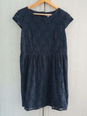 s.Oliver Lace Dress dark blue