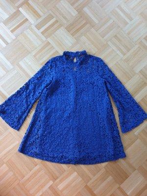 Spitzenkleid Zara blau
