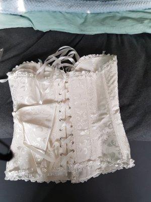 100% Fashion Top di merletto bianco