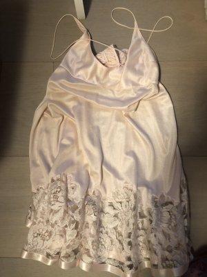 La perla Peniuar różany Poliamid