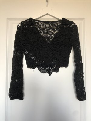 Zara V-Neck Shirt black