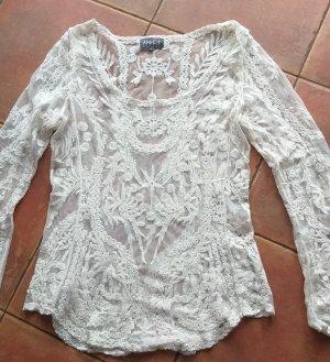 Apricot Kanten blouse wolwit-room