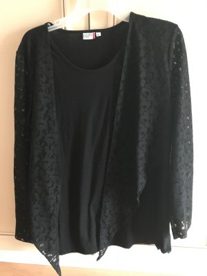 NKD Oversized shirt zwart
