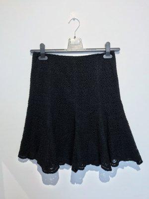 Emporio Armani Falda de encaje negro