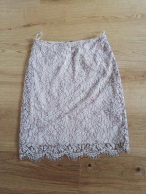 Comma Falda de encaje multicolor