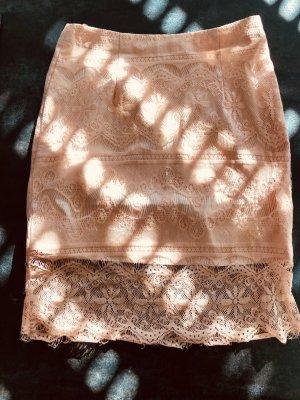 Sabo Skirt Falda de encaje nude Poliéster