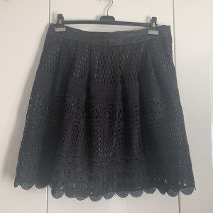 New Look Falda de encaje negro Poliéster