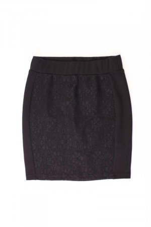 Lace Skirt black polyester