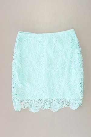 Lace Skirt turquoise polyester