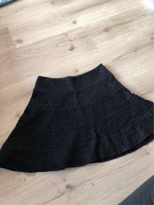 Express Falda de encaje negro