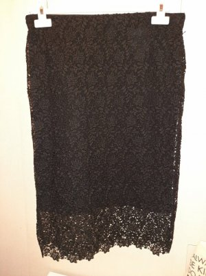 Yessica Lace Skirt black polyester
