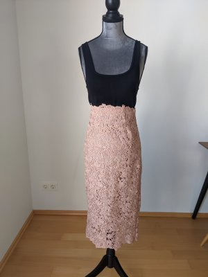 Zara Lace Skirt dusky pink