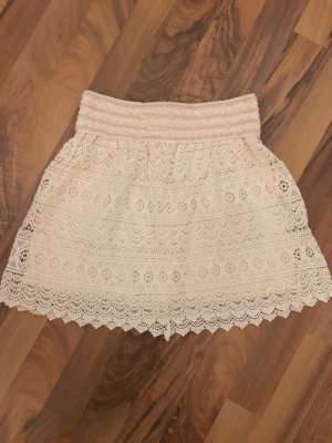 Vince Otto Lace Skirt cream