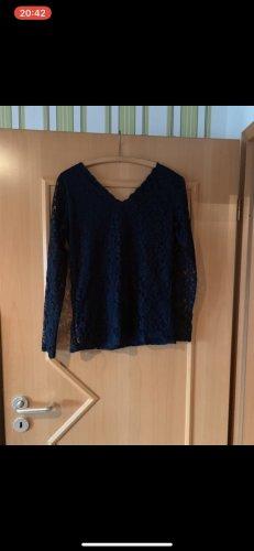 Janina Carmen Shirt dark blue