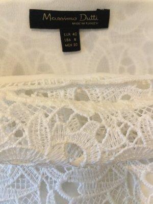 Massimo Dutti T-shirt blanc cassé