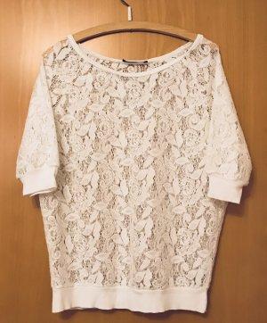 Atmosphere Boatneck Shirt white cotton