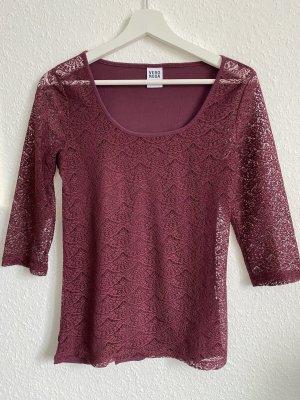 Vero Moda Netshirt braambesrood