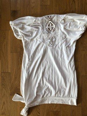 Angie Shirt Tunic white viscose
