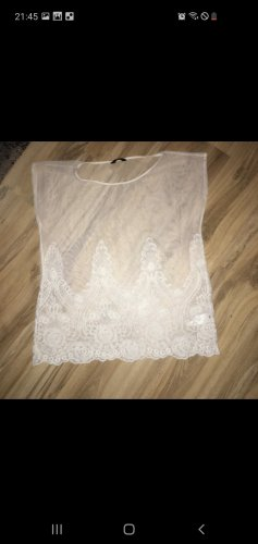 MAX Lace Blouse white