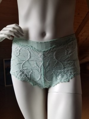 Bas turquoise-vert menthe