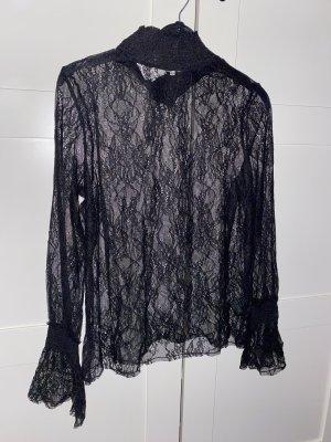 H&M Kanten topje zwart