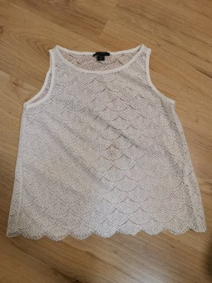 Amisu Lace Top natural white