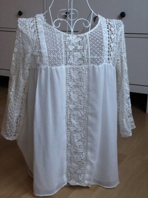 Zara Lace Blouse white