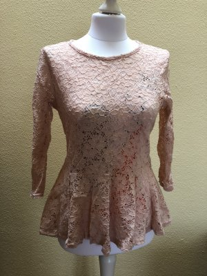 Amisu Gehaakt shirt rosé