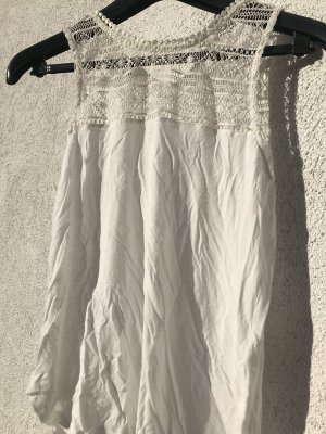 H&M Kanten topje wit