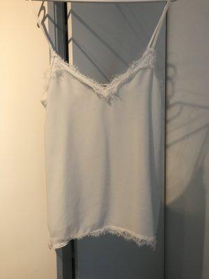 Zara Lace Top white