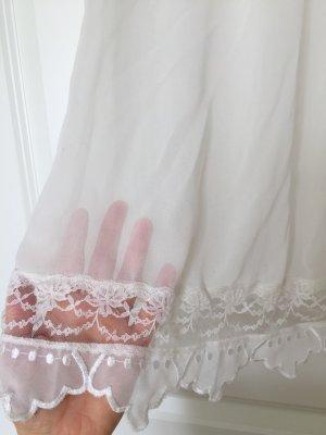 Vero Moda Maglia a rete bianco