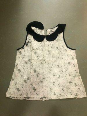 Glamorous Blouse Top white-black cotton