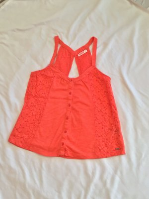 Spitzentop orange
