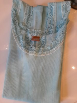 believe Lace Top turquoise