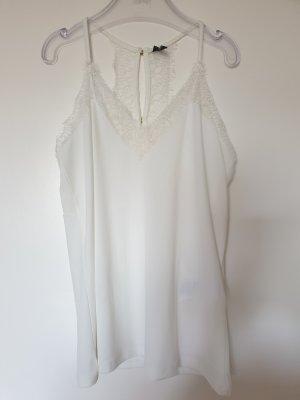 Vero Moda Kanten topje wit